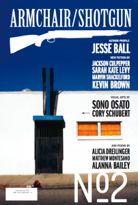 Armchair / Shotgun Issue 2's front cover