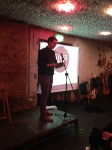 Tom Chivers, editor of Penned in the Margins