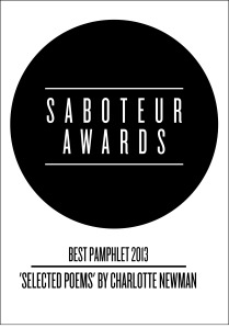 saboteur awards - pamphlet