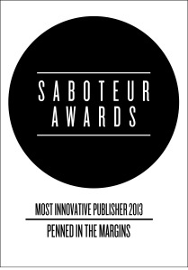 saboteur awards - publisher