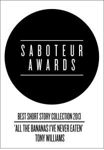 saboteur awards - short story collection