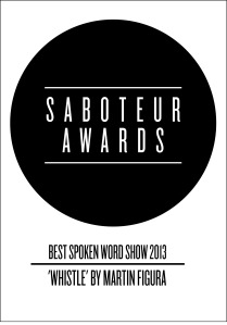 saboteur awards - spoken word show